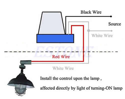Wire To Light Photocell Diagram Wiring Diagram