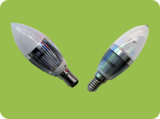 Dimmable 1x4W Candle Bulb