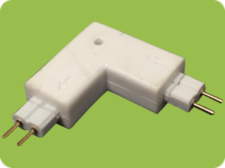 L Connector 2-Pin Male